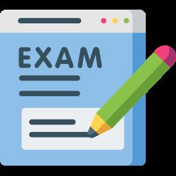 Online offline exam portal